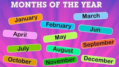 Como Pronunciar Los Meses Del Año En Inglés