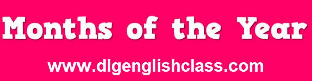 Pronunciar Los Meses Del Ano En Ingles Dlg English Class